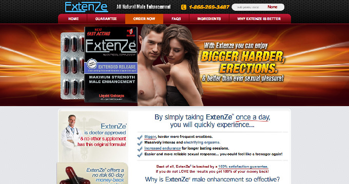 extenze-website